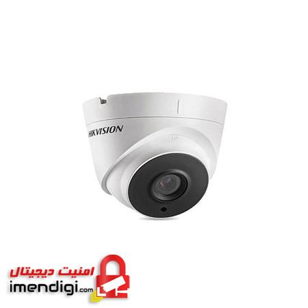 Hikvision 3MP EXIR Turret Camera DS-2CE56F1T-IT1 - دوربین آنالوگ دام هایک ویژن DS-2CE56F1T-IT1